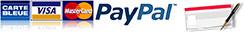 Paiement Paypal Chéque