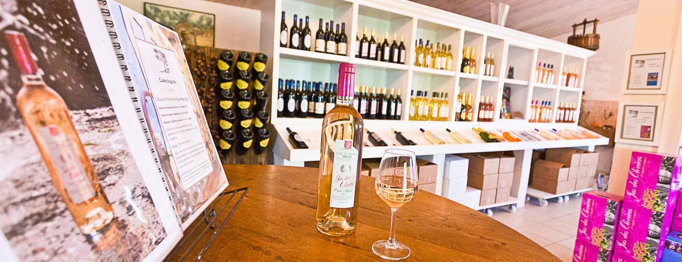 Vin du var AOC cote de provence Jas des Oliviers